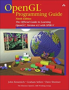 OpenGL Programming Guide: The Official Guide to Learning OpenGL, Version 4.5 with SPIR-V, 9/e (Paperback)-cover