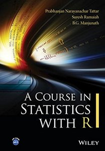 A Course in Statistics with R-cover