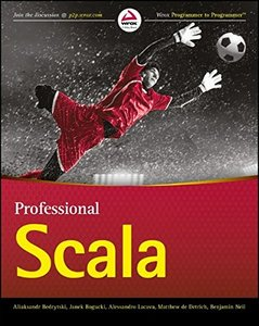 Professional Scala-cover