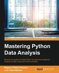Mastering Python Data Analysis-cover