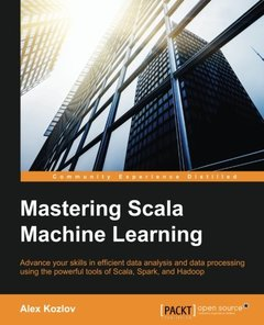 Mastering Scala Machine Learning (Paperback)-cover