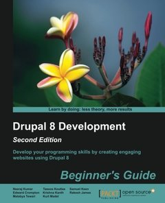 Drupal 8 Development: Beginner's Guide - Second Edition-cover
