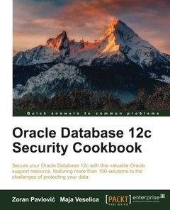 Oracle Database 12c Security cookbook-cover