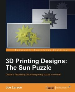 3D Printing Designs: The Sun Puzzle-cover