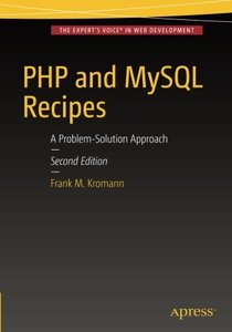 PHP and MySQL Recipes: A Problem-Solution Approach-cover