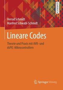 Lineare Codes: Theorie und Praxis mit AVR- und dsPIC-Mikrocontrollern (German Edition)-cover