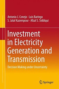 Investment in Electricity Generation and Transmission: Decision Making under Uncertainty-cover