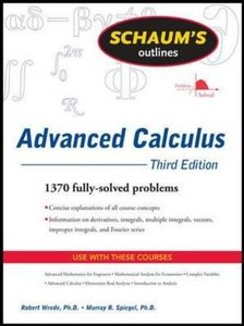 Schaum's Outlines Advanced Calculus ( Schaum's Outlines ) (3RD ed.)-cover