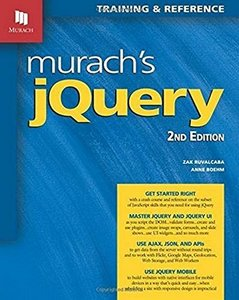 Murach's jQuery, 2nd Edition-cover