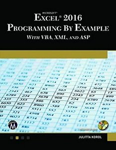 Microsoft Excel 2016 Programming by Example-cover
