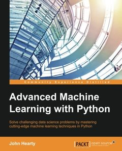 Advanced Machine Learning with Python (Paperback)-cover