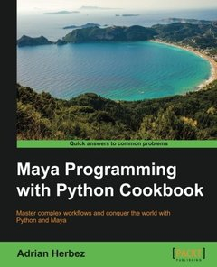 Maya Programming with Python Cookbook-cover