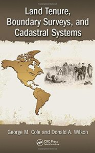 Land Tenure, Boundary Surveys, and Cadastral Systems-cover