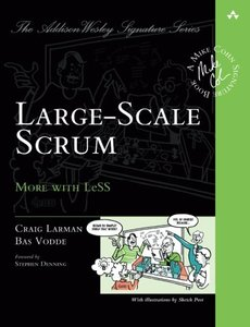 Large-Scale Scrum: More with LeSS (Paperback)-cover