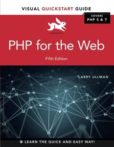 PHP for the Web: Visual QuickStart Guide (5th Edition)-cover