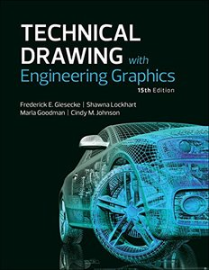 Technical Drawing with Engineering Graphics (15th Edition)-cover