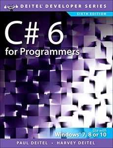 C# 6 for Programmers (6th Edition) (Deitel Developer Series)-cover