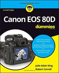Canon EOS 80D For Dummies (For Dummies (Computer/Tech))-cover