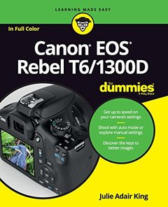 Canon EOS Rebel T6/1300D For Dummies (For Dummies (Computer/Tech))-cover