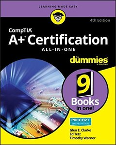 CompTIA A+ Certification All-in-One For Dummies (For Dummies (Computer/Tech))-cover