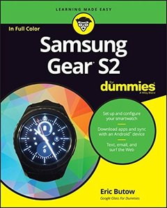 Samsung Gear S2 For Dummies (For Dummies (Computer/Tech))-cover
