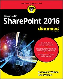 SharePoint 2016 For Dummies-cover