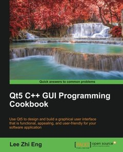 Qt5 C++ GUI Programming Cookbook-cover