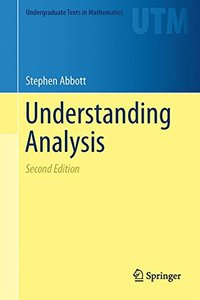 Understanding Analysis 2/e-cover