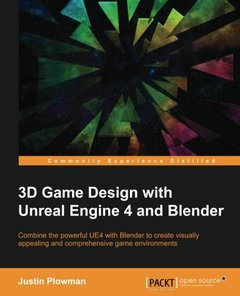 3D Game Design with Unreal Engine 4 and Blender-cover