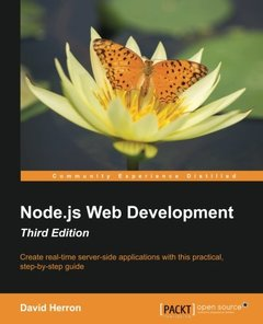 Node.JS Web Development - Third Edition-cover