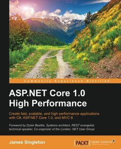 ASP.NET Core 1.0 High Performance-cover