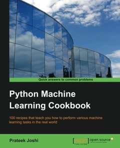 Python Machine Learning Cookbook (Paperback)-cover