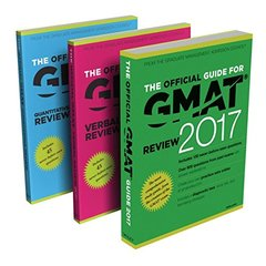 The Official Guide to the GMAT Review 2017 Bundle + Question Bank + Video-cover