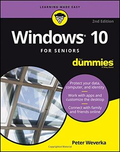 Windows 10 For Seniors For Dummies (For Dummies (Computer/Tech))-cover