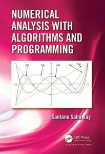 Numerical Analysis with Algorithms and Programming-cover