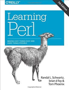Learning Perl : Making Easy Things Easy and Hard Things Possible, 7/e (Paperback)-cover