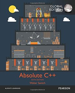 Absolute C++, 6/e (IE-Paperback)-cover