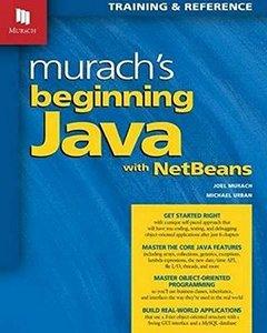Murach's Beginning Java with NetBeans-cover