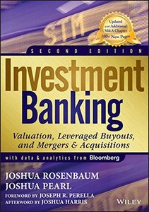 Investment Banking: Valuation, Leveraged Buyouts, and Mergers and Acquisitions (Hardcover)-cover