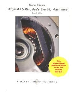 Fitzgerald and Kingsley's Electric Machinery, 7/e (IE-Paperback)-cover