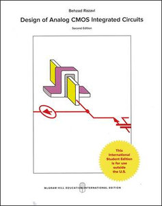 Design of Analog CMOS Integrated Circuits, 2/e (IE-Paperback)-cover