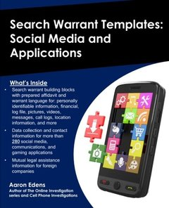 Search Warrant Templates: Social Media and Applications-cover