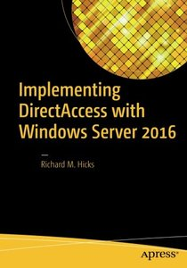 Implementing DirectAccess with Windows Server 2016-cover