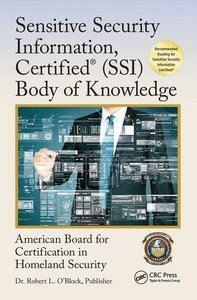 Sensitive Security Information, Certified® (SSI) Body of Knowledge (Center for National Threat Assessment)-cover
