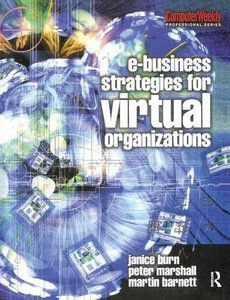e-Business Strategies for Virtual Organizations-cover