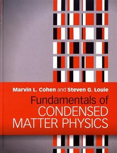 Fundamentals of Condensed Matter Physics (Hardcover)-cover
