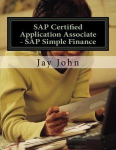 SAP Certified Application Associate - SAP Simple Finance-cover