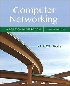 Computer Networking : A Top-Down Approach, 7/e (Hardcover)(美國原版)-cover