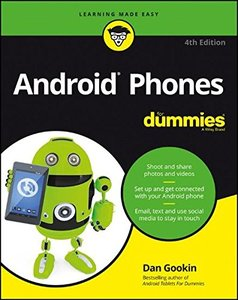 Android Phones For Dummies( 4/e)-cover