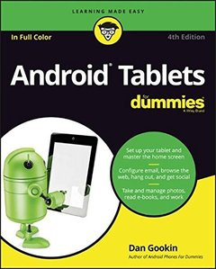 Android Tablets For Dummies (For Dummies (Computer/Tech))4/E-cover
